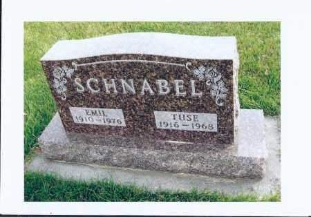 SCHNABEL, TUSE - McIntosh County, North Dakota   TUSE SCHNABEL - North Dakota Gravestone Photos