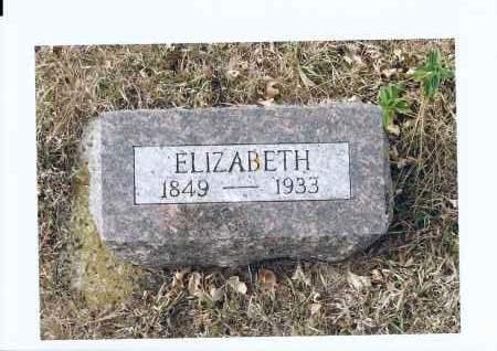 SCHNABEL, ELIZABETH - McIntosh County, North Dakota   ELIZABETH SCHNABEL - North Dakota Gravestone Photos