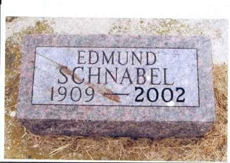 SCHNABEL, EDMUND - McIntosh County, North Dakota | EDMUND SCHNABEL - North Dakota Gravestone Photos