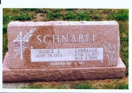 SCHNABEL, LAWRENCE - McIntosh County, North Dakota | LAWRENCE SCHNABEL - North Dakota Gravestone Photos