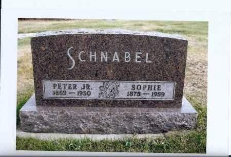 SATTLER SCHNABEL, SOPHIE - McIntosh County, North Dakota | SOPHIE SATTLER SCHNABEL - North Dakota Gravestone Photos