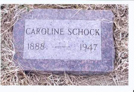 SCHOCK, CAROLINE - McIntosh County, North Dakota   CAROLINE SCHOCK - North Dakota Gravestone Photos