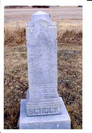 SCHOCK, JOHANNES - McIntosh County, North Dakota | JOHANNES SCHOCK - North Dakota Gravestone Photos
