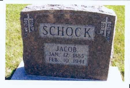 SCHOCK, JACOB - McIntosh County, North Dakota | JACOB SCHOCK - North Dakota Gravestone Photos
