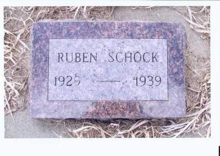 SCHOCK, RUBEN - McIntosh County, North Dakota | RUBEN SCHOCK - North Dakota Gravestone Photos