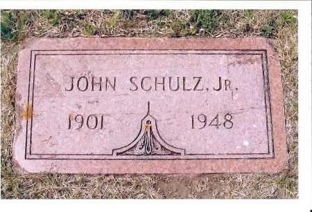 SCHULZ, JOHN, JR. - McIntosh County, North Dakota | JOHN, JR. SCHULZ - North Dakota Gravestone Photos