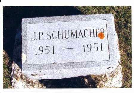 SCHUMACHER, J. P. - McIntosh County, North Dakota | J. P. SCHUMACHER - North Dakota Gravestone Photos
