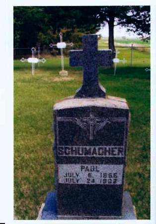 SCHUMACHER, PAUL - McIntosh County, North Dakota | PAUL SCHUMACHER - North Dakota Gravestone Photos