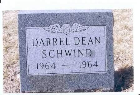 SCHWIND, DARREL DEAN - McIntosh County, North Dakota | DARREL DEAN SCHWIND - North Dakota Gravestone Photos