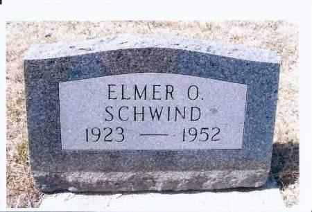 SCHWIND, ELMER O. - McIntosh County, North Dakota | ELMER O. SCHWIND - North Dakota Gravestone Photos