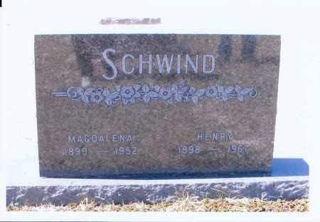 SCHWIND, MAGDALENA - McIntosh County, North Dakota | MAGDALENA SCHWIND - North Dakota Gravestone Photos