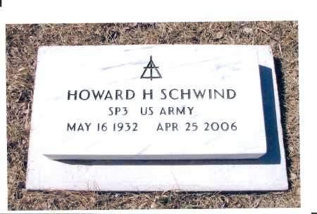 SCHWIND, HOWARD H. - McIntosh County, North Dakota   HOWARD H. SCHWIND - North Dakota Gravestone Photos