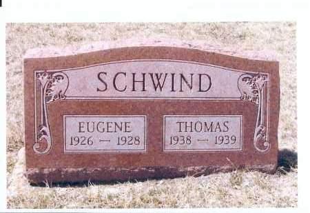 SCHWIND, THOMAS - McIntosh County, North Dakota | THOMAS SCHWIND - North Dakota Gravestone Photos