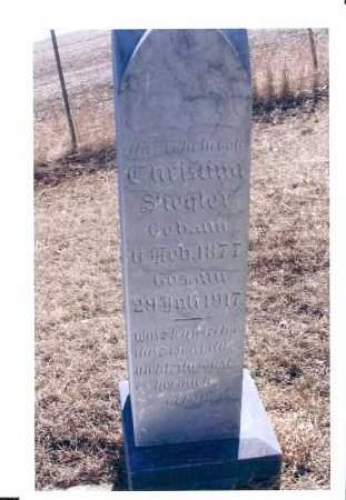 SIEGLER, CHRISTINA - McIntosh County, North Dakota   CHRISTINA SIEGLER - North Dakota Gravestone Photos