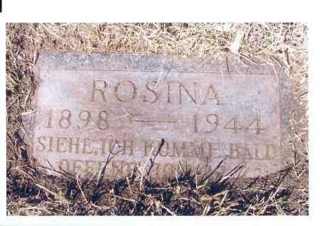 SIEWERT, ROSINA - McIntosh County, North Dakota | ROSINA SIEWERT - North Dakota Gravestone Photos