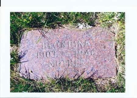 STADING, BLONDINA - McIntosh County, North Dakota   BLONDINA STADING - North Dakota Gravestone Photos