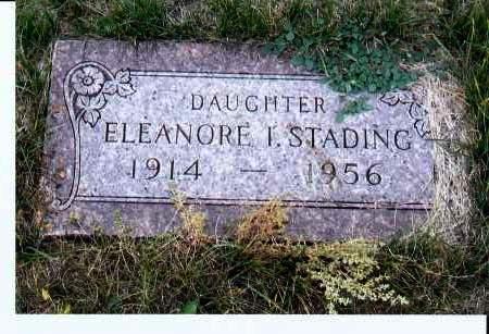 STADING, ELEANORE I. - McIntosh County, North Dakota | ELEANORE I. STADING - North Dakota Gravestone Photos