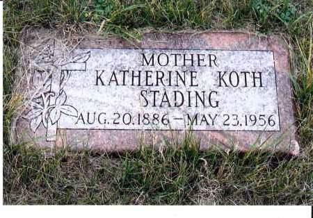 STADING, KATHERINE - McIntosh County, North Dakota | KATHERINE STADING - North Dakota Gravestone Photos