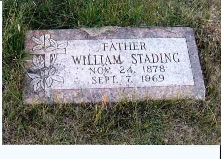 STADING, WILLIAM - McIntosh County, North Dakota | WILLIAM STADING - North Dakota Gravestone Photos