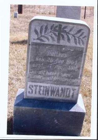 STEINWANDT, MATHEUS - McIntosh County, North Dakota | MATHEUS STEINWANDT - North Dakota Gravestone Photos