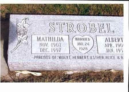 STROBEL, ALBERT - McIntosh County, North Dakota | ALBERT STROBEL - North Dakota Gravestone Photos