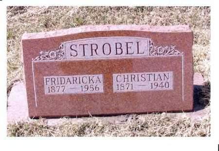 STROBEL, CHRISTIAN - McIntosh County, North Dakota | CHRISTIAN STROBEL - North Dakota Gravestone Photos