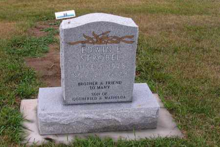 STROBEL, EDWIN E. - McIntosh County, North Dakota | EDWIN E. STROBEL - North Dakota Gravestone Photos