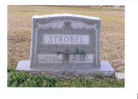 REMPFER STROBEL, CAROLINA - McIntosh County, North Dakota | CAROLINA REMPFER STROBEL - North Dakota Gravestone Photos