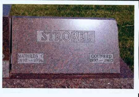 STROBEL, MATHILDA G. - McIntosh County, North Dakota | MATHILDA G. STROBEL - North Dakota Gravestone Photos