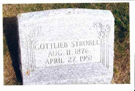 STROBEL, GOTTLIEB - McIntosh County, North Dakota | GOTTLIEB STROBEL - North Dakota Gravestone Photos