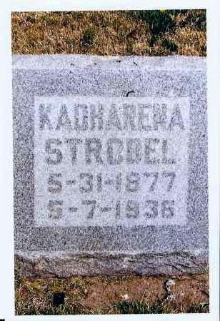 STROBEL, KADHARENA - McIntosh County, North Dakota | KADHARENA STROBEL - North Dakota Gravestone Photos