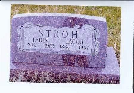 STROH, JACOB - McIntosh County, North Dakota | JACOB STROH - North Dakota Gravestone Photos