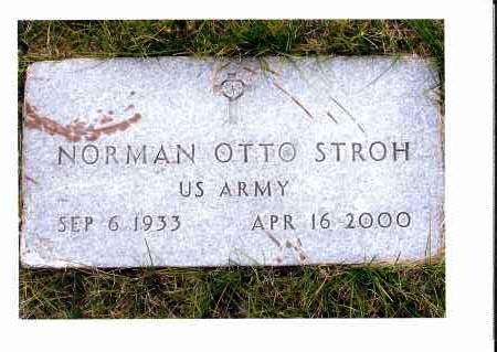 STROH, NORMAN OTTO - McIntosh County, North Dakota   NORMAN OTTO STROH - North Dakota Gravestone Photos