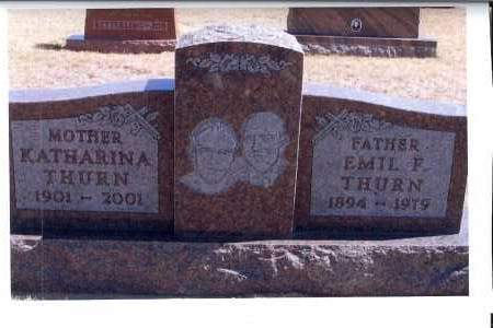THURN, EMIL F. - McIntosh County, North Dakota   EMIL F. THURN - North Dakota Gravestone Photos