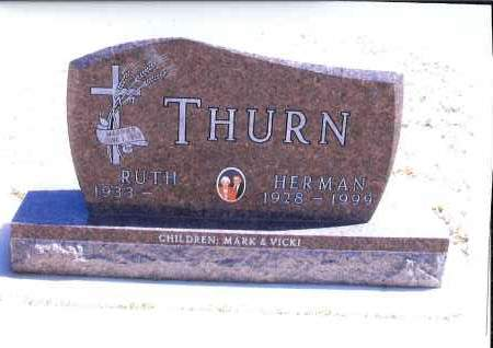 THURN, HERMAN - McIntosh County, North Dakota | HERMAN THURN - North Dakota Gravestone Photos