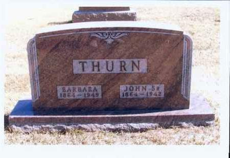 THURN, JOHN, SR. - McIntosh County, North Dakota | JOHN, SR. THURN - North Dakota Gravestone Photos