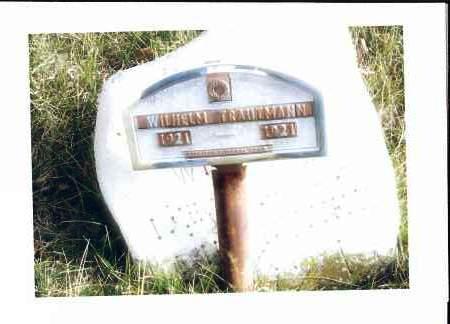 TRAUTMANN, WILHELM - McIntosh County, North Dakota | WILHELM TRAUTMANN - North Dakota Gravestone Photos