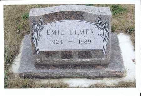 ULMER, EMIL - McIntosh County, North Dakota   EMIL ULMER - North Dakota Gravestone Photos