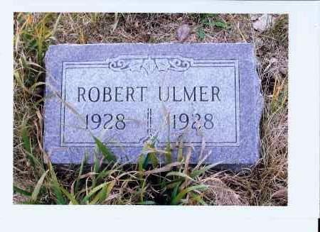 ULMER, ROBERT - McIntosh County, North Dakota | ROBERT ULMER - North Dakota Gravestone Photos