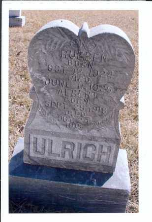 ULRICH, RUEBEN - McIntosh County, North Dakota | RUEBEN ULRICH - North Dakota Gravestone Photos