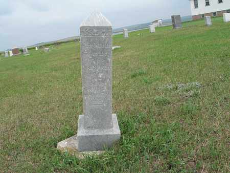 UNKNOWN 001, CHRISTIAN - McIntosh County, North Dakota | CHRISTIAN UNKNOWN 001 - North Dakota Gravestone Photos
