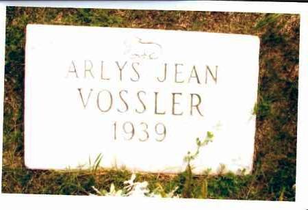 VOSSLER, ARLYS JEAN - McIntosh County, North Dakota | ARLYS JEAN VOSSLER - North Dakota Gravestone Photos