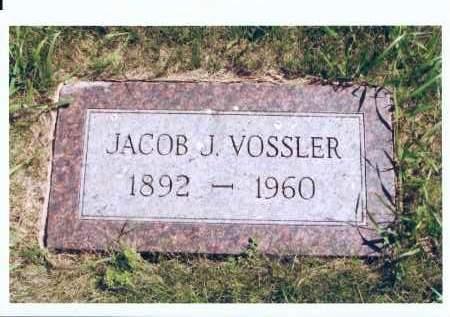 VOSSLER, JACOB J. - McIntosh County, North Dakota   JACOB J. VOSSLER - North Dakota Gravestone Photos