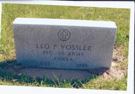 VOSSLER, LEO P. - McIntosh County, North Dakota | LEO P. VOSSLER - North Dakota Gravestone Photos