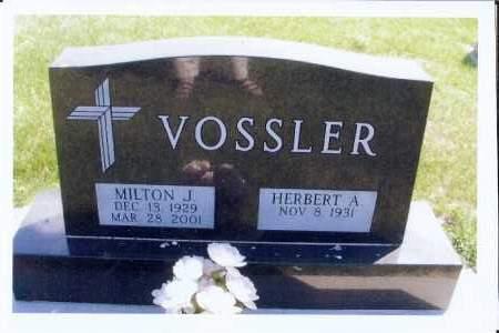 VOSSLER, MILTON J. - McIntosh County, North Dakota | MILTON J. VOSSLER - North Dakota Gravestone Photos