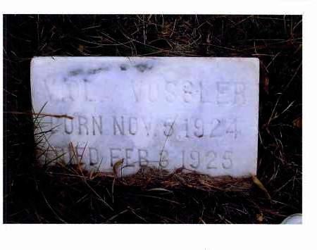 VOSSLER, VIOLA - McIntosh County, North Dakota   VIOLA VOSSLER - North Dakota Gravestone Photos