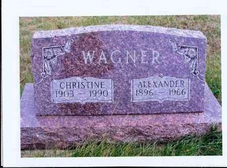 WAGNER, CHRISTINE - McIntosh County, North Dakota   CHRISTINE WAGNER - North Dakota Gravestone Photos