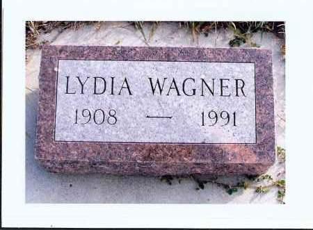 WAGNER, LYDIA - McIntosh County, North Dakota | LYDIA WAGNER - North Dakota Gravestone Photos