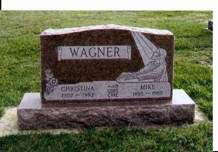 WAGNER, CHRISTINA - McIntosh County, North Dakota | CHRISTINA WAGNER - North Dakota Gravestone Photos