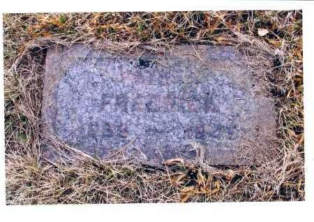 WAHL, FRERICKA - McIntosh County, North Dakota | FRERICKA WAHL - North Dakota Gravestone Photos